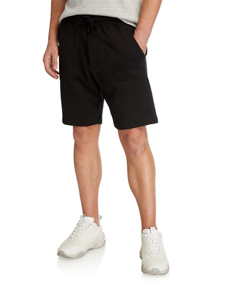 Vince Men's Garment-Dyed Drawstring Shorts
