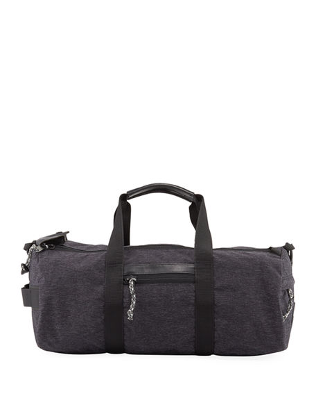 Shinola Men's Rambler Duffel Bag with Leather Trim