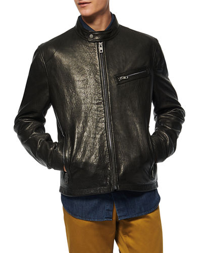 Andrew Marc Men's Cumberland Leather Jacket