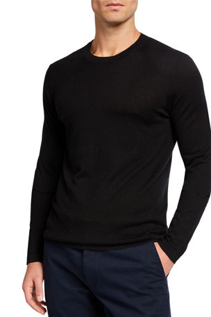 Neiman Marcus Cashmere Collection Men's Superfine Crewneck T-Shirt