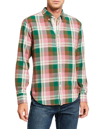 Rag & Bone Men's Fit 2 Tomlin Plaid Sport Shirt