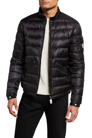 Moncler Men's Agay Down Quilted Jacket