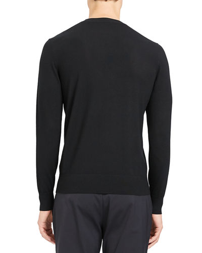 Theory Men's Regal Wool Crewneck Sweater