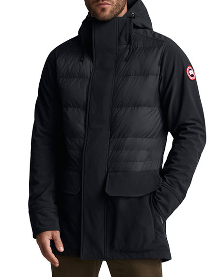 Canada Goose Men's Breton Quilted-Panel Coat