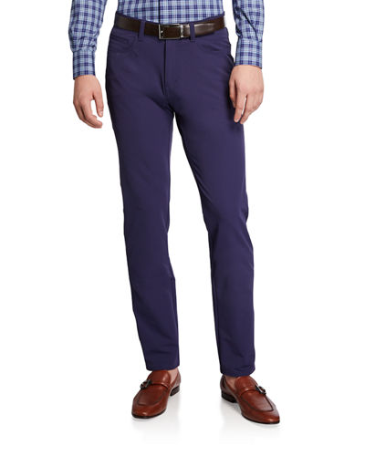 Men's Kirk Stretch Double-Weave 5-Pocket Pants