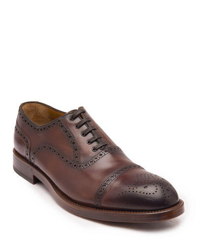 Men's Olympio Brogue Lace-Up Loafers