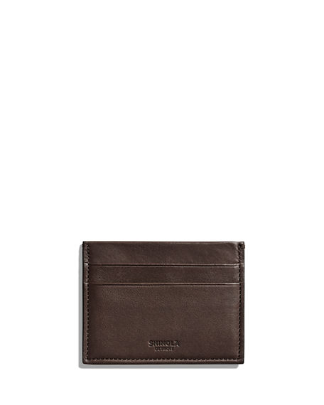 Shinola Men's Heritage Leather Card Case