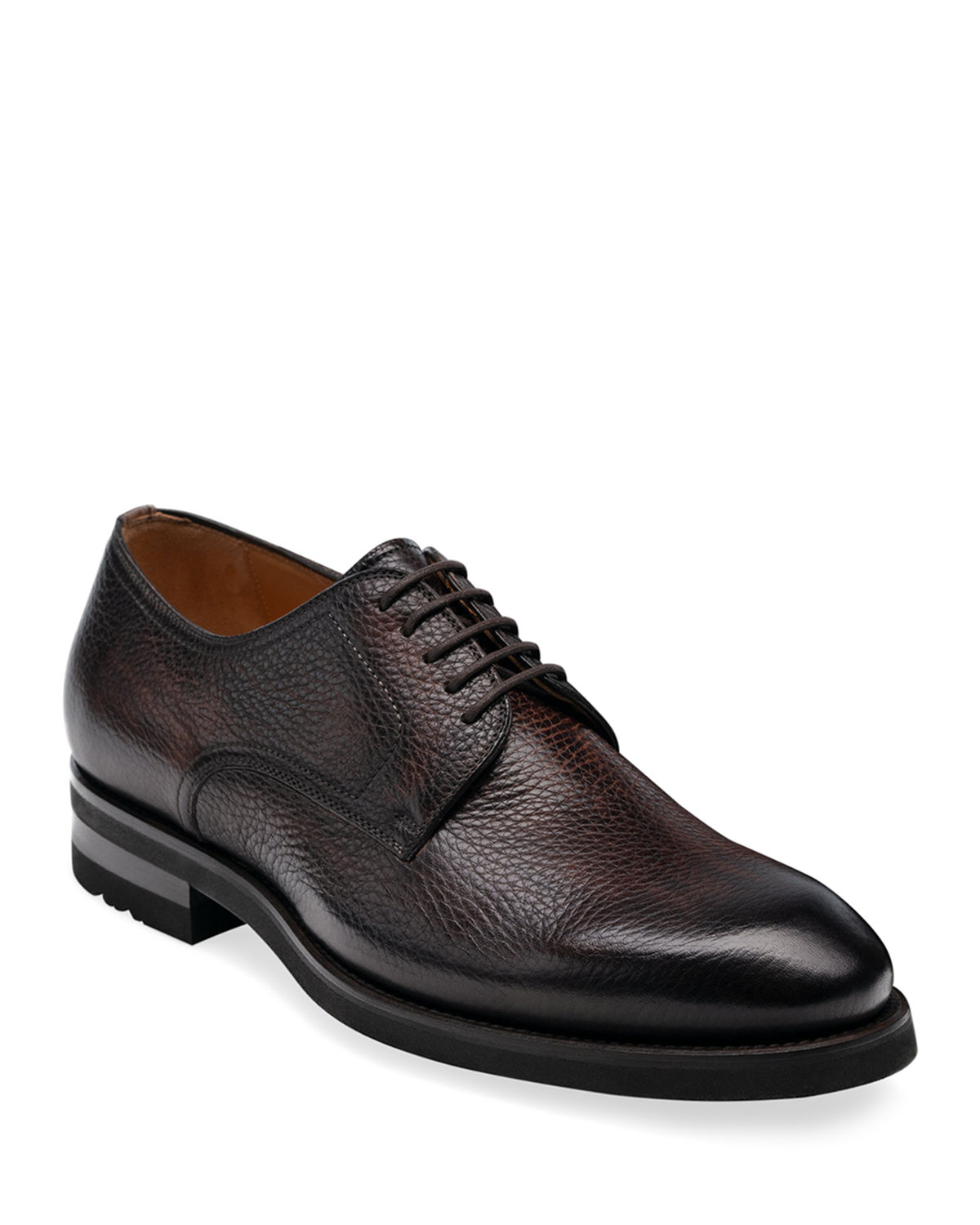 Men's Melich II Pebbled Leather Derby Shoes