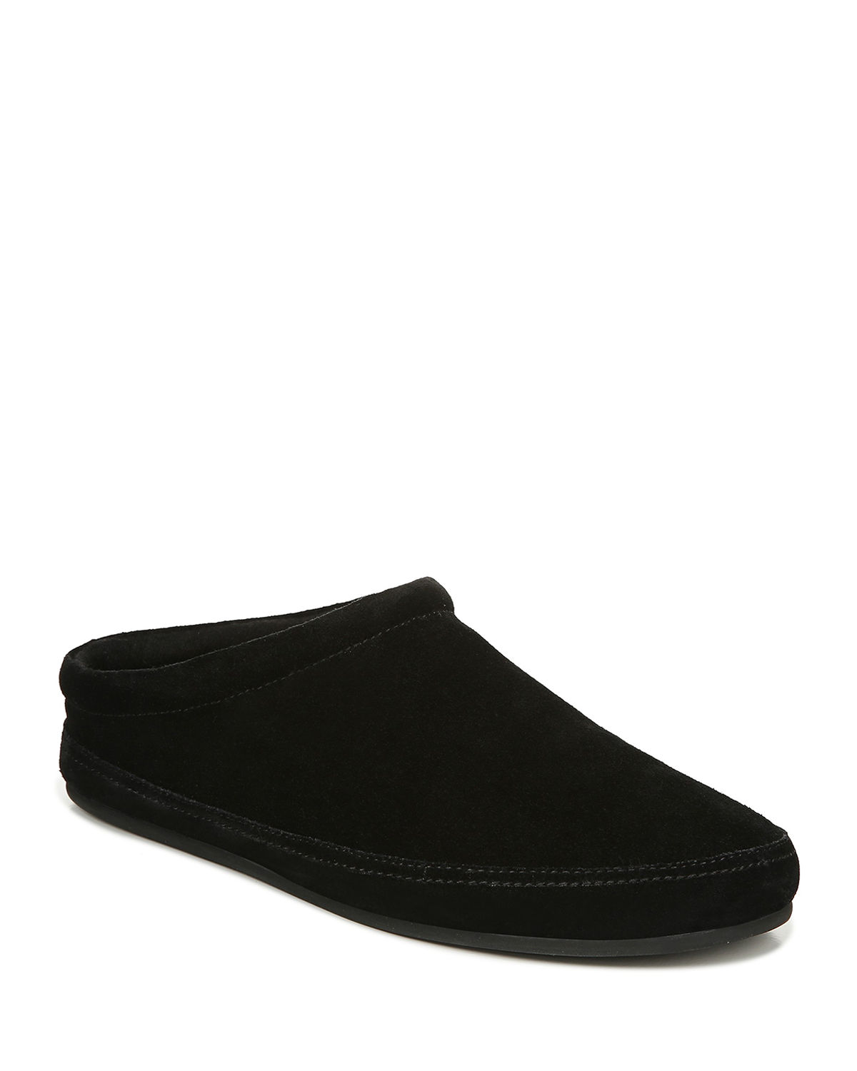 Vince Slippers MEN'S HOWELL SOLID SUEDE SLIPPERS