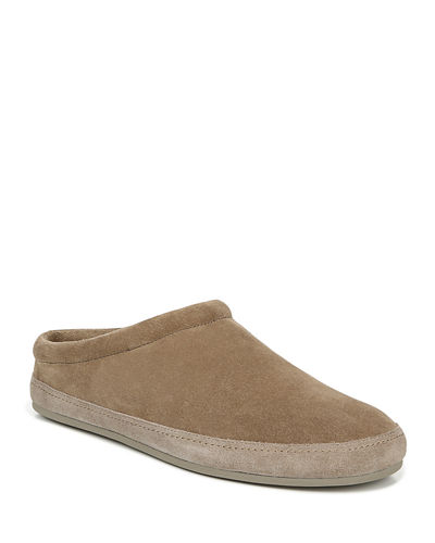 Men's Howell Solid Suede Slippers