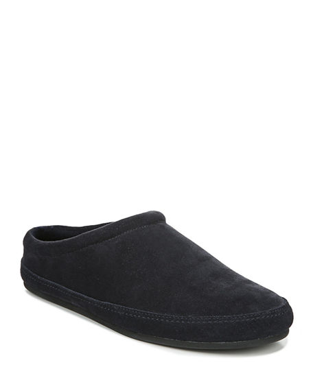 Vince Men's Howell Solid Suede Slippers