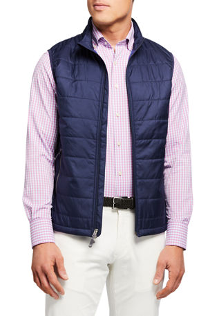 Peter Millar Men's Hyperlight Zip-Front Vest