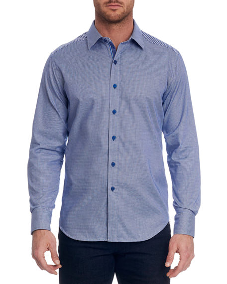 Robert Graham Men's Hearst Textured Sport Shirt