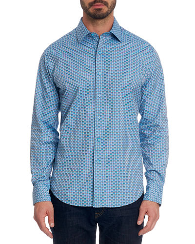 Robert Graham Melrose Graphic Sport Shirt