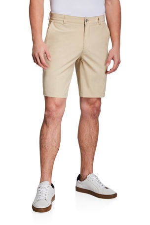 Peter Millar Men's Shackleford Straight-Leg Twill Shorts