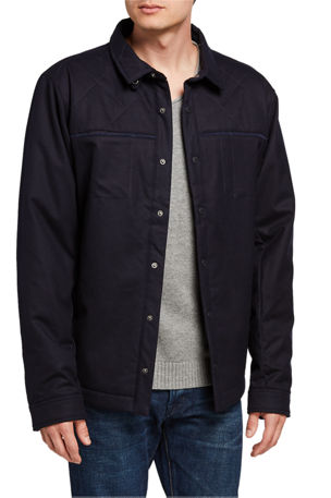 Fisher + Baker Men's Birmingham CPO Shirt Jacket