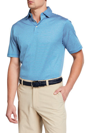 Peter Millar Men's Marley Stripe Polo Shirt