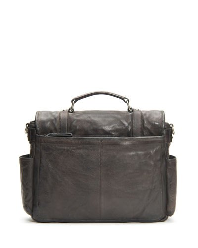 Frye Men's Murray Antiqued Leather Briefcase Bag