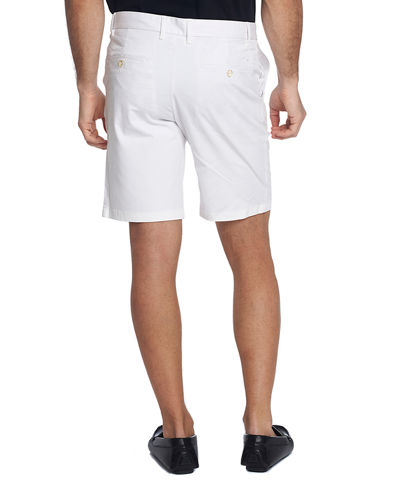 Robert Graham Men's Ridge Cotton-Twill Flat-Front Shorts