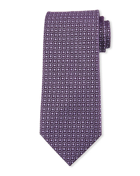 Charvet Men's Mini Medallion Silk Tie