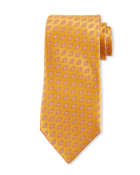 Charvet Men's Flame Silk Tie
