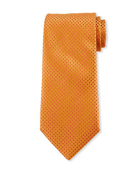 Charvet Men's Dots & Dashes Silk Tie