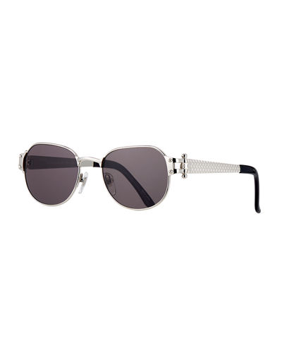 Men's 1999 Masterpiece White Gold-Plated Sunglasses