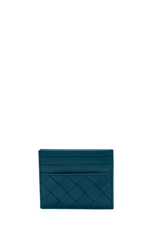 Bottega Veneta Men's Intrecciato Leather Card Case