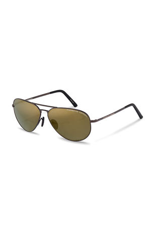 Porsche Design Men's Purism Aviator Sunglasses