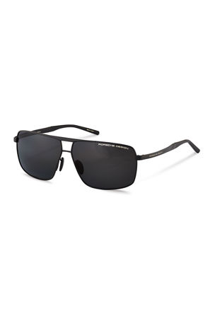 Porsche Design Men's Performance Ti-Namic Aviator Sunglasses