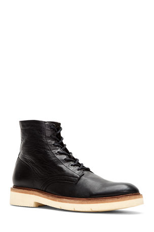 Frye Men's Bowery Leather Lace-Up Boots