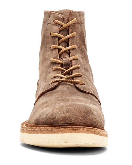 Image 3 of 4: Frye Men's Bowery Leather Lace-Up Boots