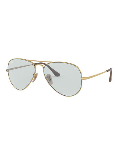 Men's Evolve Polarized Metal Aviator Sunglasses
