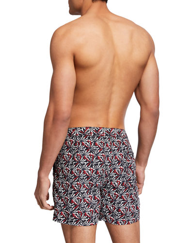 John Varvatos Star USA Men's Malibu Floral Swim Shorts