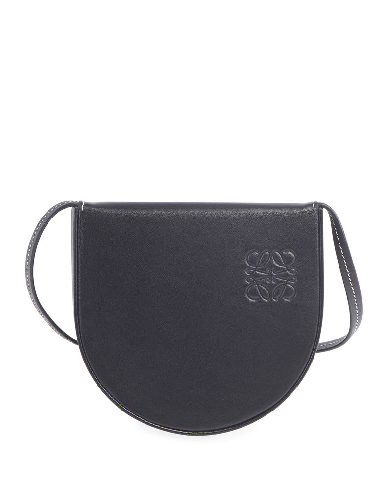 Loewe Men's Heel Small Leather Crossbody Pouch Bag