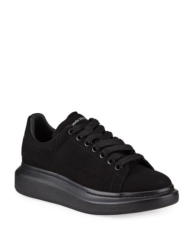 Black Satin finish Alexander Mcqueen style laces Brand New