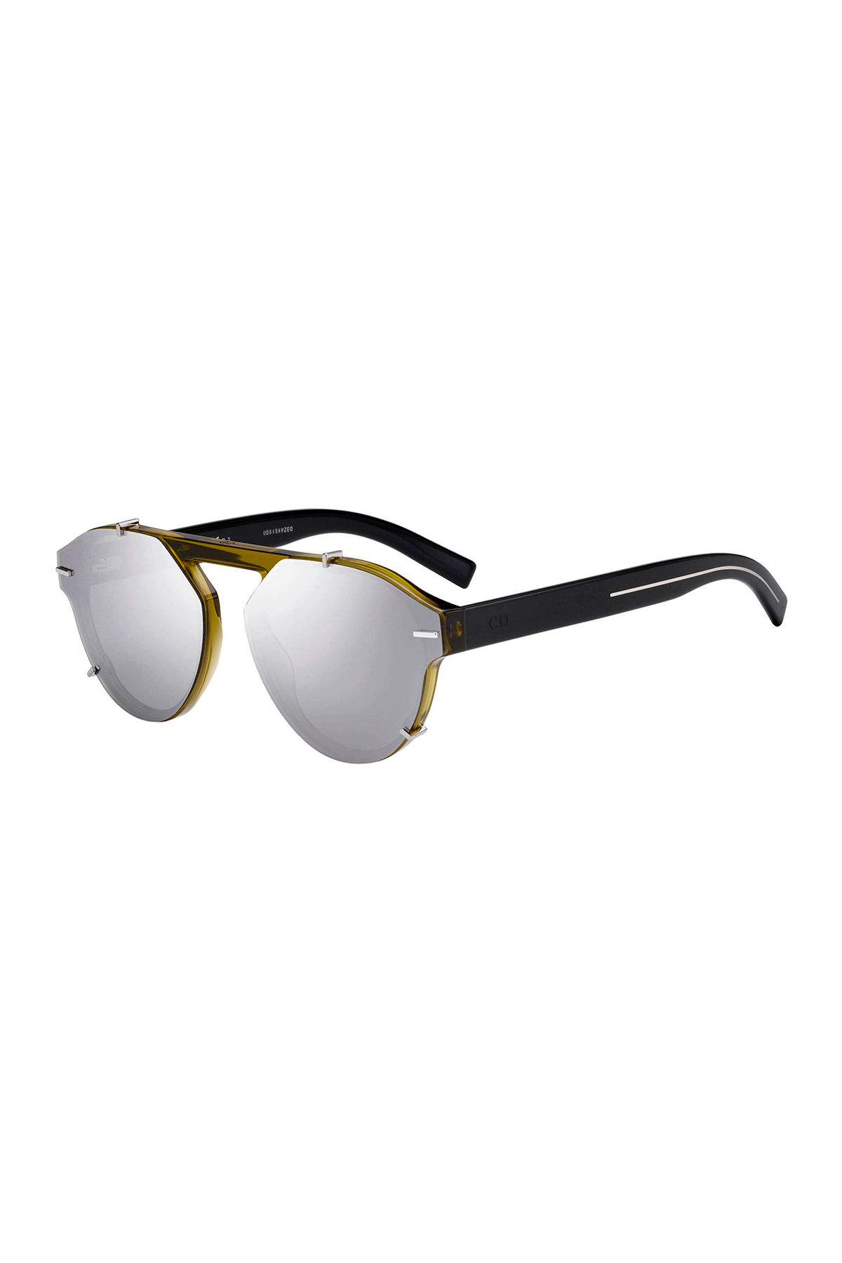 Dior Sunglasses MEN'S ROUND CLIPPED OPTYL® SUNGLASSES