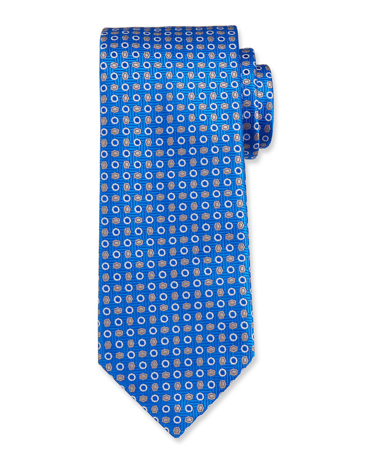 Circles And Ovals Tie