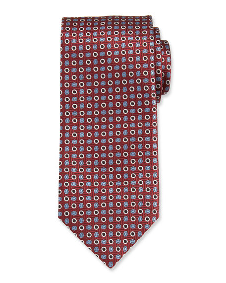 Brioni Circles And Ovals Tie