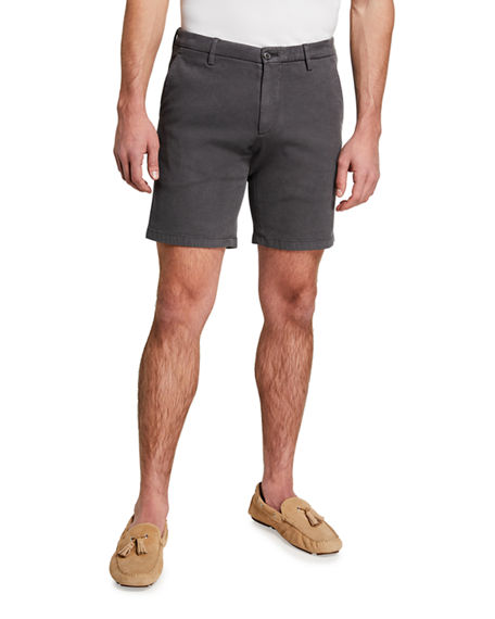 Neiman Marcus Men's Solid Bermuda Shorts