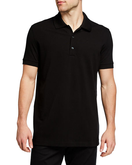 THE ROW Men's Nahor Solid Polo Shirt