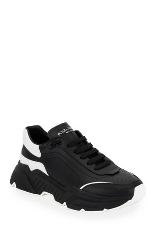Dolce & Gabbana Men's Day Master Two-Tone Chunky Runner Sneakers