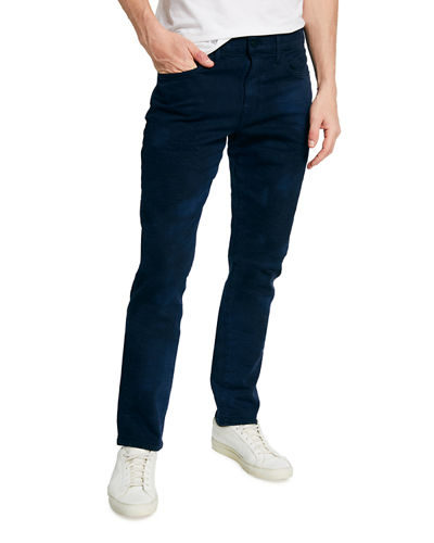 Men's Asher Marble-Wash Slim-Fit Jeans