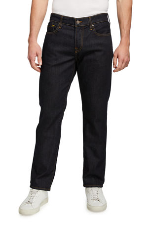 7 for all mankind Men's Luxe Performance: Slimmy Blue Jeans
