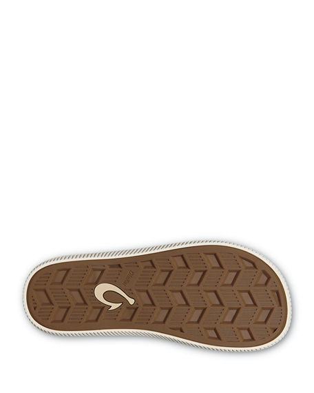 Image 3 of 3: Olukai Men's Ulele Beach Thong Sandals