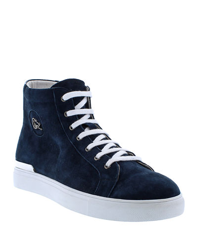 Men's Devos Suede High-Top Sneakers
