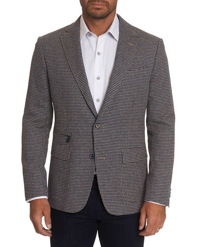 Men's Downhill VIII Check Two-Button Jacket