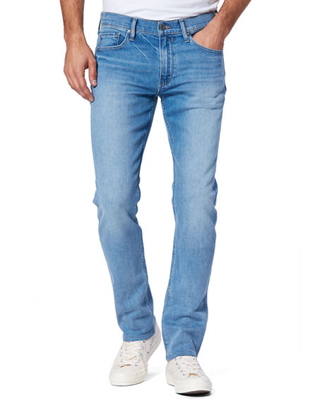 Image 1 of 2: PAIGE Men's Lennox Slim-Fit Dark-Wash Jeans