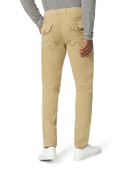 Image 2 of 2: Joe's Jeans Men's Elastic-Waist Utility Trousers