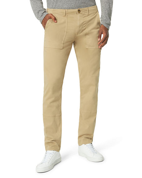 Image 1 of 2: Joe's Jeans Men's Elastic-Waist Utility Trousers